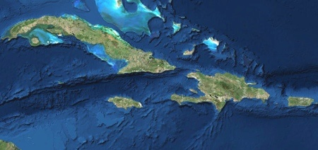 Satellite images island chains greater antilles urtaz Choice Image